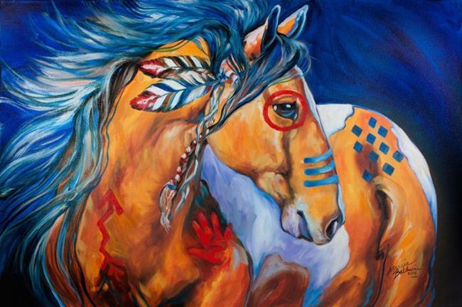 BOLD-amp-BRAVE-Indian-War-Horse